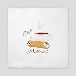 Coffee & Pastries Queen Duvet