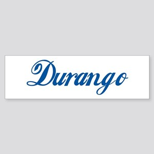 Durango (cursive) Bumper Sticker