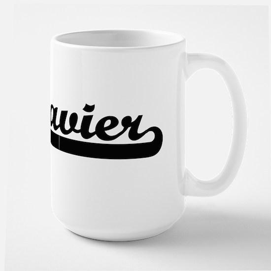 Zavier Classic Retro Name Design Mugs