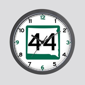 Highway 44, South Dakota Wall Clock