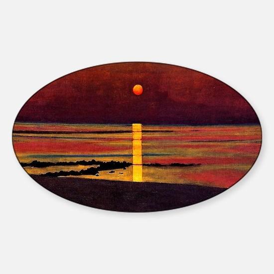 Vallotton - Sunset Sticker (Oval)