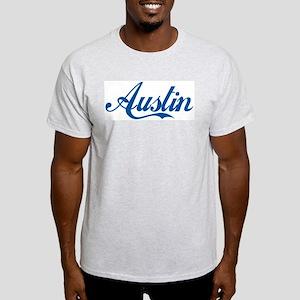 Austin (cursive) Light T-Shirt
