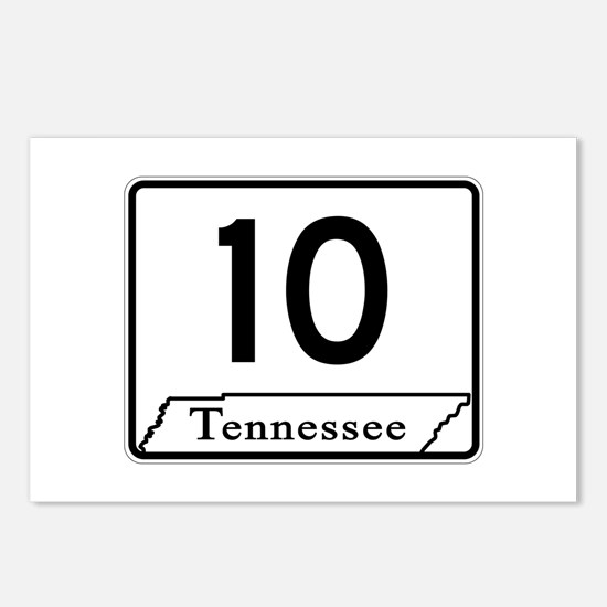 State Route 10, Tennessee Postcards (Package of 8)