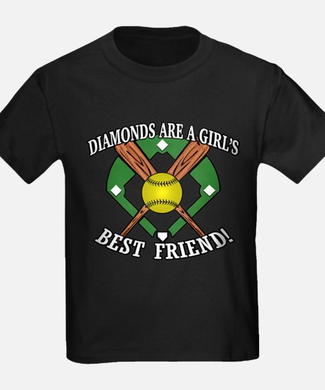 Softball Diamonds Best Friend! T-Shirt