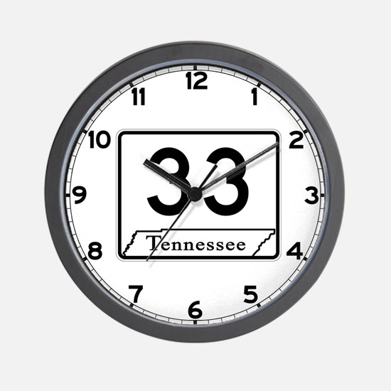 State Route 33, Tennessee Wall Clock