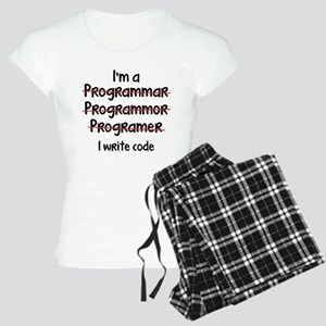 I Write Code Women's Light Pajamas