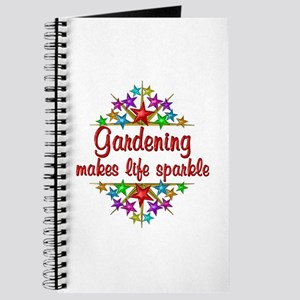Gardening Sparkles Journal