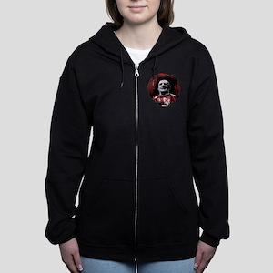 Kingpin Splatter Women's Zip Hoodie