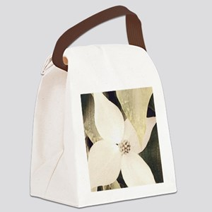 Dogwood Canvas Lunch Bag