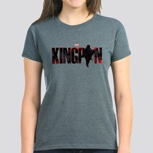 Kingpin Word Women's Dark T-Shirt