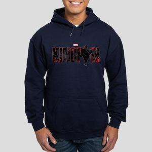 Kingpin Word Hoodie (dark)