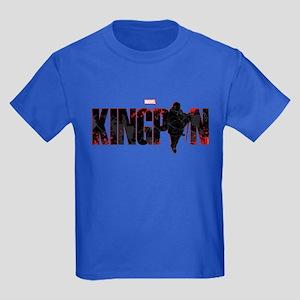Kingpin Word Kids Dark T-Shirt