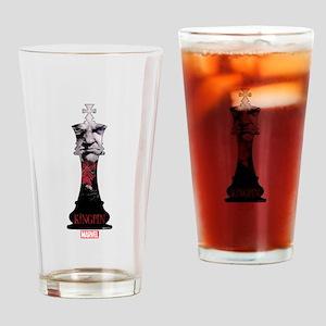 Kingpin Chesspiece Drinking Glass