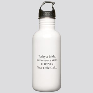 Bride Poem to Parents Water Bottle