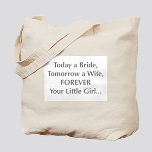 Bride Poem to Parents Tote Bag