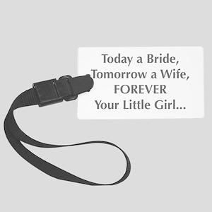 Bride Poem to Parents Luggage Tag