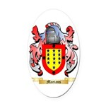 Marians Oval Car Magnet