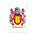 Marians 35x21 Wall Decal