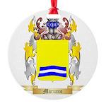 Mariano Round Ornament