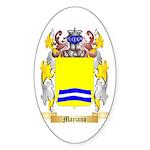 Mariano Sticker (Oval 50 pk)