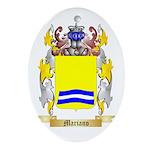 Mariano Ornament (Oval)