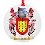 Marian Round Ornament