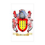 Marian Sticker (Rectangle 50 pk)