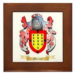 Marian Framed Tile