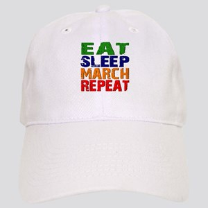 Eat Sleep March Repeat Baseball Cap