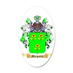 Marguery Oval Car Magnet