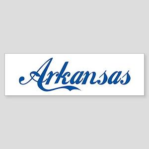 Arkansas (cursive) Bumper Sticker