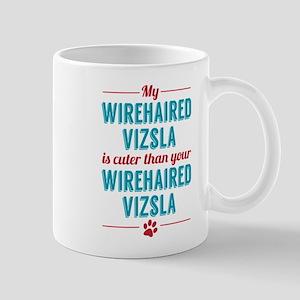 My Wirehaired Vizsla Mugs