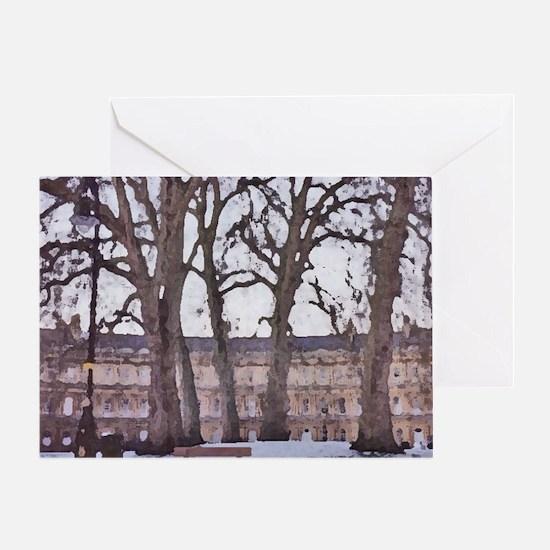 Winter in Bath, England. Greeting Card