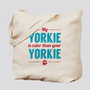 Cuter Yorkie Tote Bag