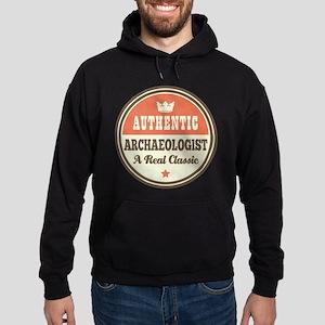Archaeologist Funny Vintage Hoodie (dark)