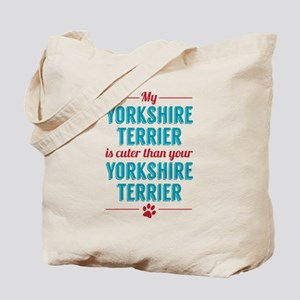 My Yorkshire Terrier Tote Bag