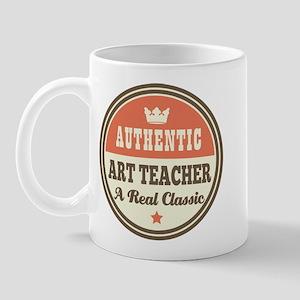 Art Teacher Funny Vintage Mug