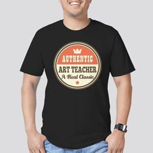 Art Teacher Funny Vint Men's Fitted T-Shirt (dark)