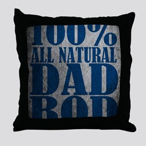 Dad Bod Throw Pillow