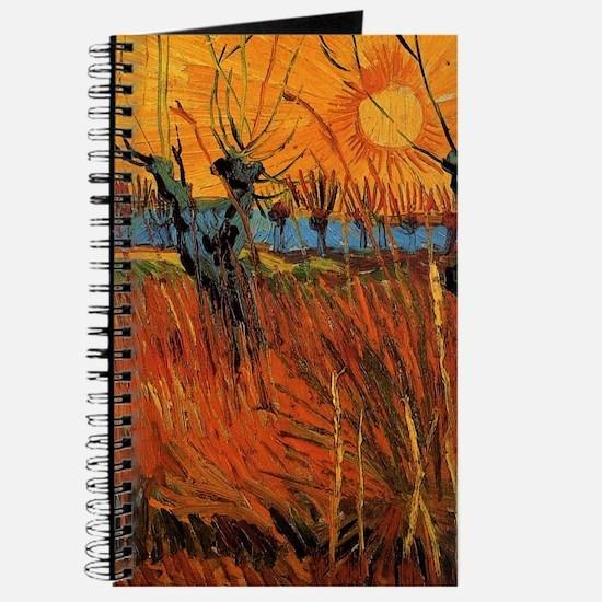 Van Gogh Willows at Sunset Journal