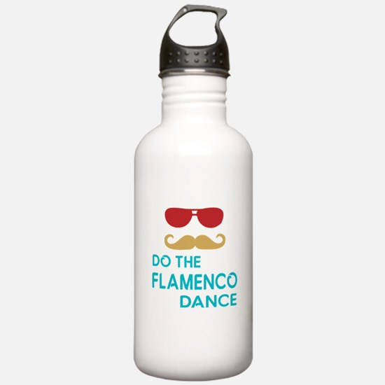 Do The Flamenco Dance Water Bottle