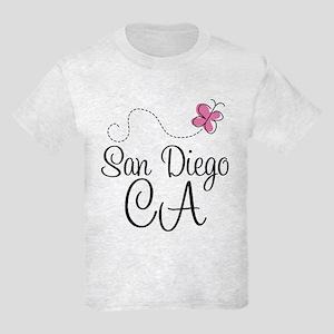 San Diego California Kids Light T-Shirt