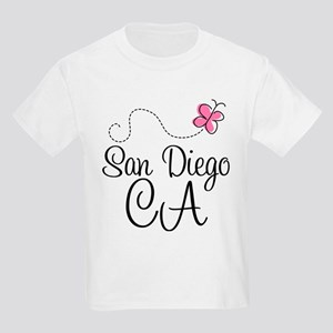 San Diego California Kids Light T-Shirt