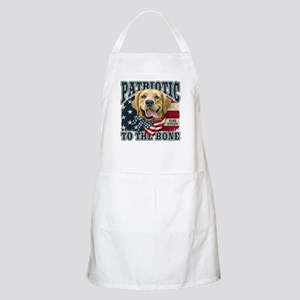 Patriotic Golden Apron