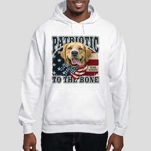 Patriotic Golden Hooded Sweatshirt