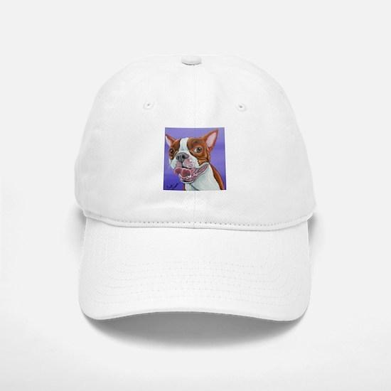 Red Boston Terrier Hat