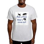 Adopt A Mutt Light T-Shirt