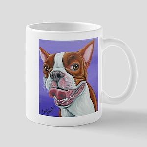 Red Boston Terrier Mugs
