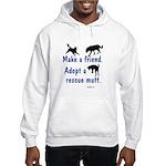 Adopt A Mutt Hooded Sweatshirt