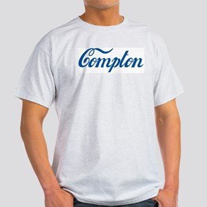 Compton (cursive) Light T-Shirt